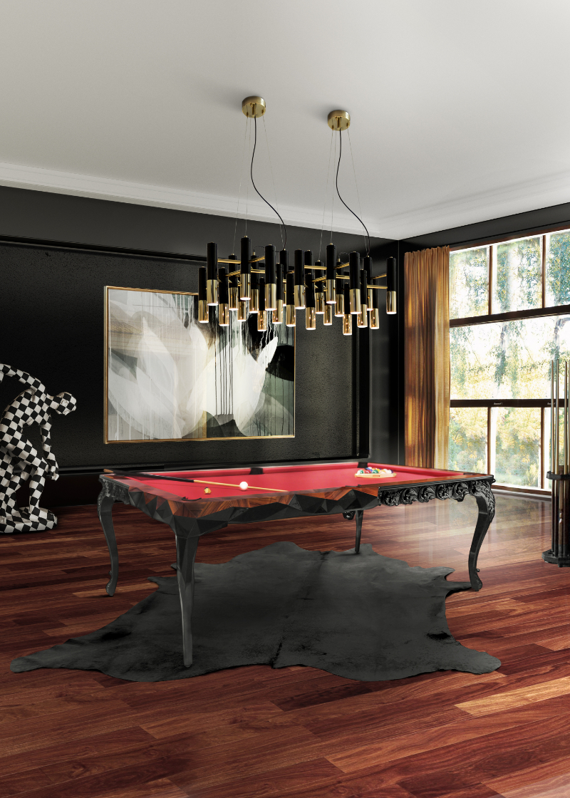 15 Furniture Ideas To Complement Your Luxury Gaming Room luxury gaming room 15 Furniture Ideas To Upscale Your Luxury Gaming Room royal snooker cover 1