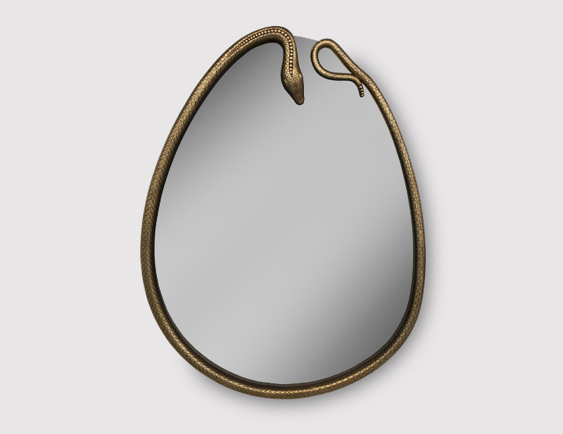 Discover The Most Impressive Luxury Mirrors luxury mirror Discover The Most Impressive Luxury Mirrors serpentine mirror 1 zoom big 1