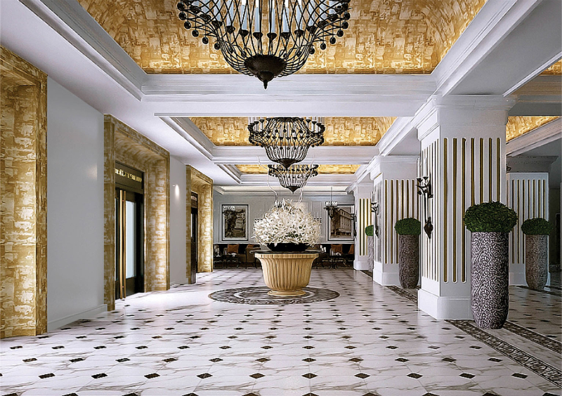 10 Exquisite Interior Design Projects In Ho Chi Minh interior design project 10 Exquisite Interior Design Projects In Ho Chi Minh 3 1545906276Hotel Continental Saigon 3 1