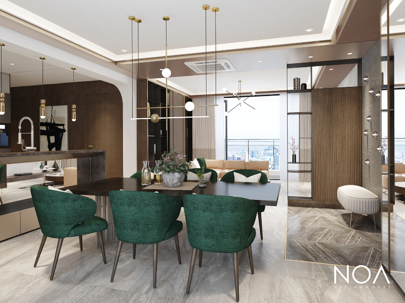 10 Exquisite Interior Design Projects In Ho Chi Minh interior design project 10 Exquisite Interior Design Projects In Ho Chi Minh DINING 3