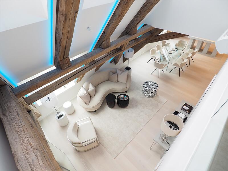 15 Exquisite Interior Design Projects In Vienna interior design project 15 Exquisite Interior Design Projects In Vienna wohnen ueber den daechern wiens 04 4