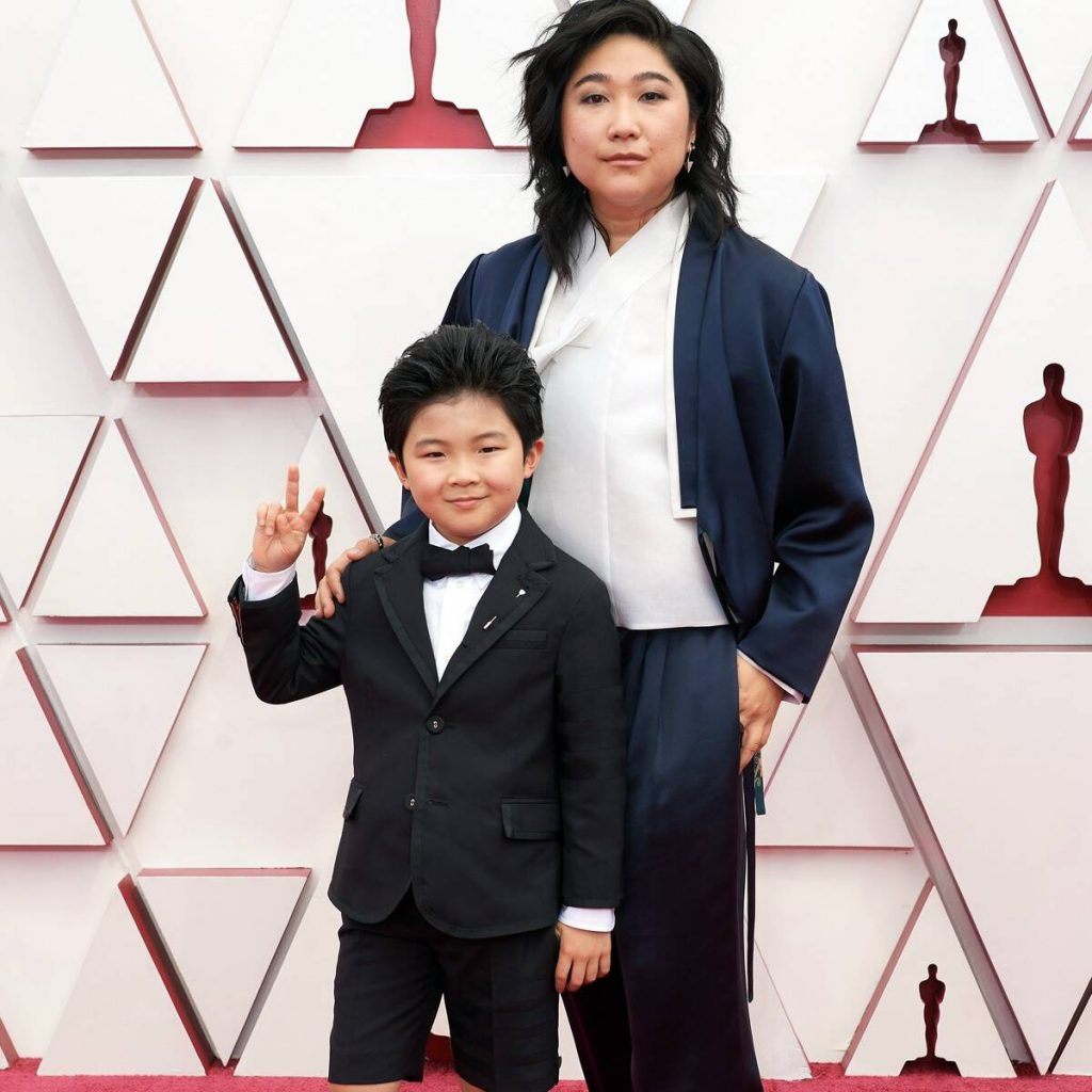 The Best Dressed Men On The Oscars oscars The Best Dressed Men At The Oscars rs 1200x1200 210425162807 1200 alan kim 5 2021 oscars red carpet 1024x1024