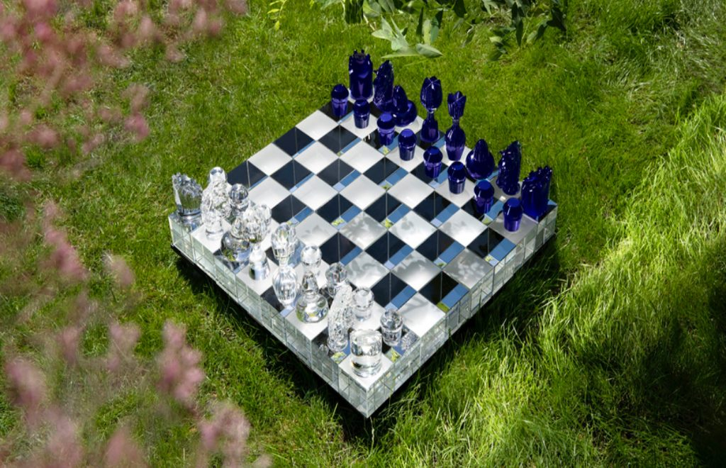 Chess Game Made Out Of Crystal For A Millionaire
