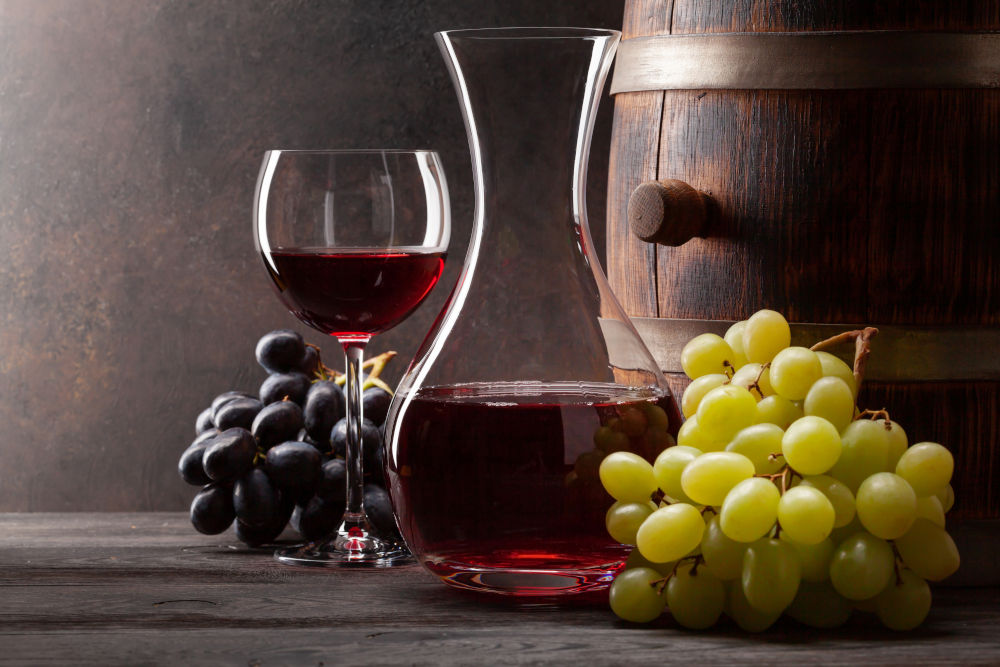 Wine Collection For A Luxury Lifestyle wine collection Wine Collection For A Luxury Lifestyle bigstock Wine decanter glass of red wi 415906828