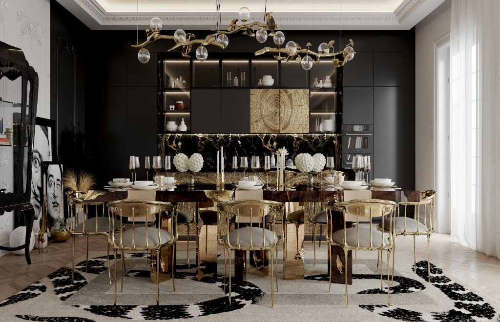 Luxury Tables For An Opulent Dining Room