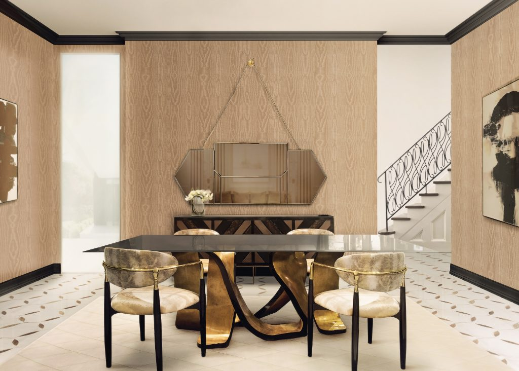 Luxury Tables For An Opulent Dining Room luxury table Luxury Tables For An Opulent Dining Room ribon 1024x732