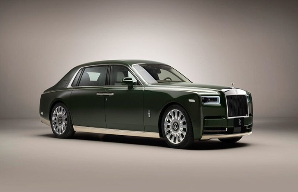 Rolls-Royce And Hermès Collaboration In A Bespoke Phantom