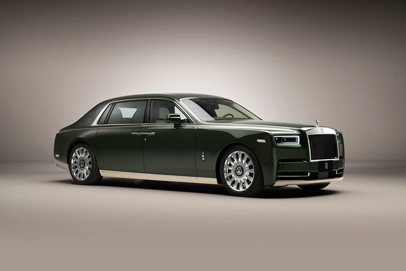 Rolls-Royce And Hermès Collaboration In A Bespoke Phantom rolls-royce Rolls-Royce And Hermès Collaboration In A Bespoke Phantom rolls royce hermes phantom designboom 011
