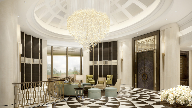 Wimberly Interiors - Luxury Interior Design Projects Corinthia Abuja Nigeria wimberly interiors Wimberly Interiors – Luxury Interior Design Projects Flagstone Hotel Main Lobby