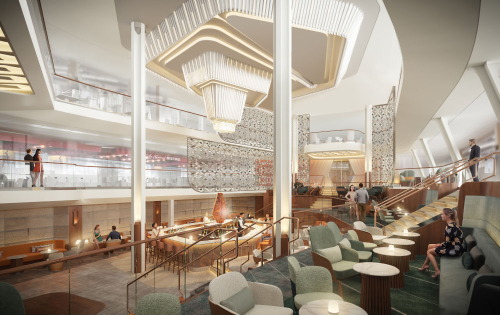 Luxury Ship From Celebrity Cruises With Exclusive Design luxury ship Luxury Ship From Celebrity Cruises With Exclusive Design at the core of CBs vision of luxury is the grand plaza