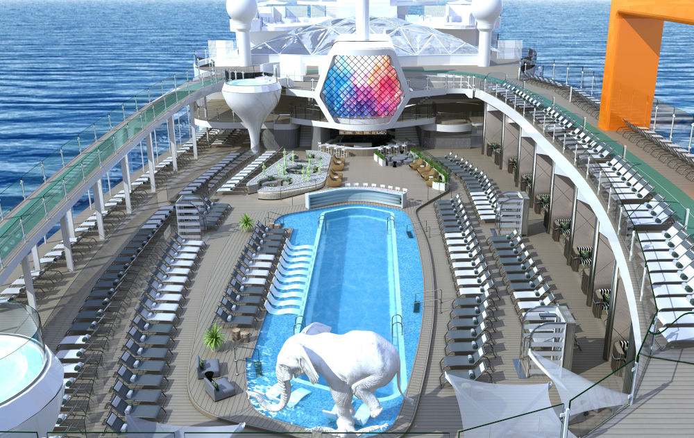 Luxury Ship From Celebrity Cruises With Exclusive Design luxury ship Luxury Ship From Celebrity Cruises With Exclusive Design resort deck vision of KH CBE