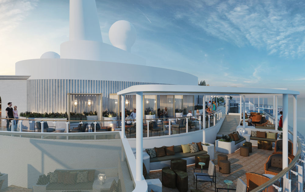 Luxury Ship From Celebrity Cruises With Exclusive Design luxury ship Luxury Ship From Celebrity Cruises With Exclusive Design sunset bar moroccan inspired escape