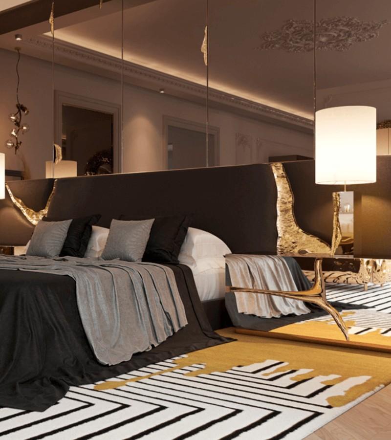 An Executive Gentleman's Goal Master Bedroom Design