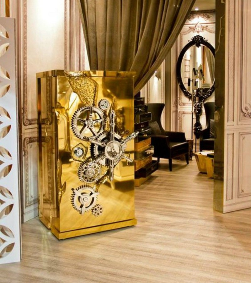 Golden Luxury Safes To Empower Your Private Home