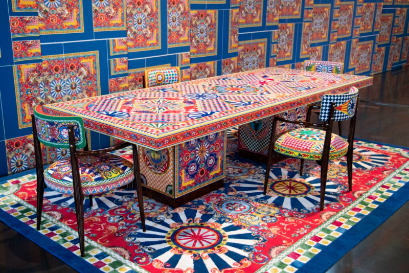 Dolce & Gabbana Has Launched A Joyful Home Decor Collection