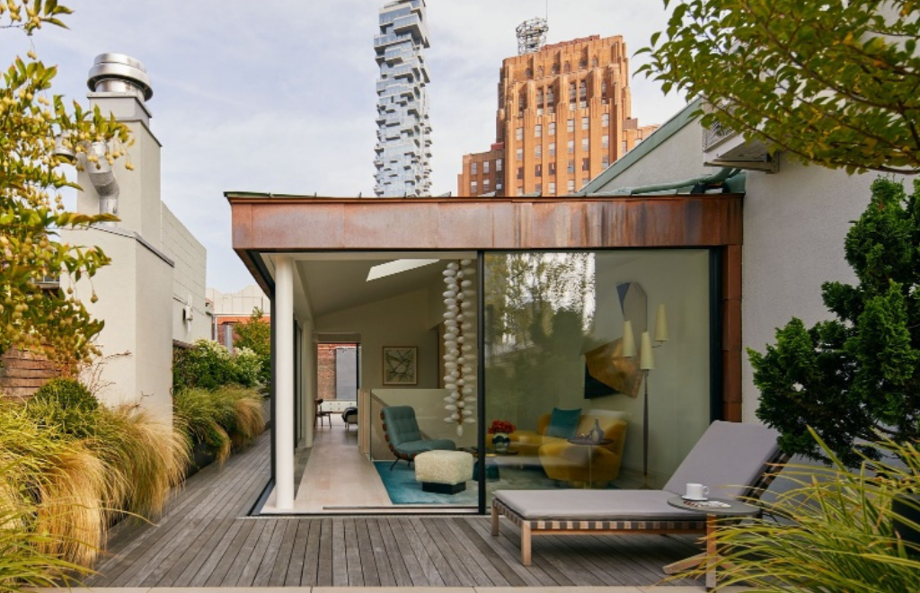 Explore A Luxury Penthouse In Tribeca With Mesmerizing Views